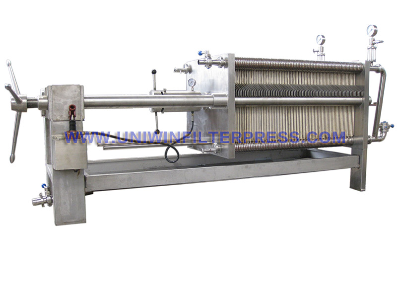 316L stainless steel filter press | Henan uniwin filtering equipment ...