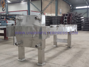 stainless steel coating filter press