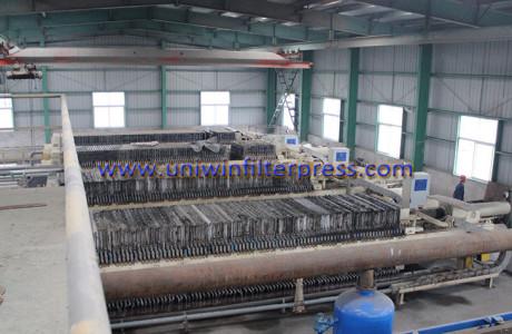 filter press for mining