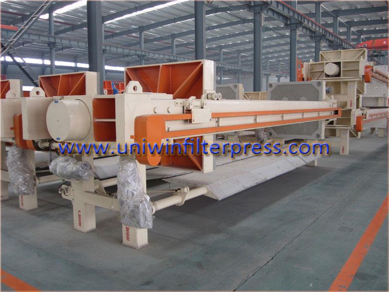 chamber-type-hydraulic-filter-press