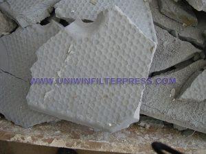 calcium carbonate filter cake