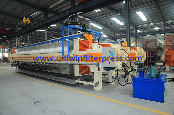 automatic-filter-cloth-washing-membrane-filter-press