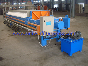 membrane type filter press