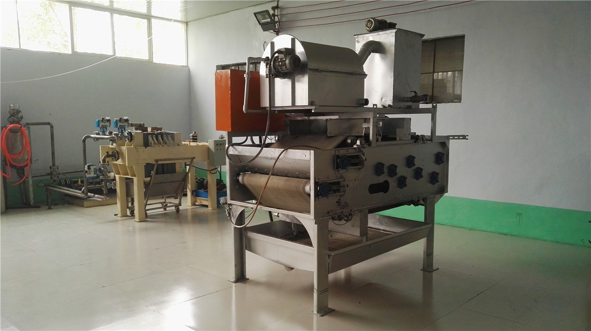 filter press and stainless steel belt filter