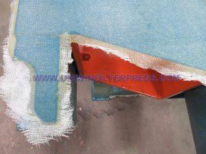 filber glass coating filter press