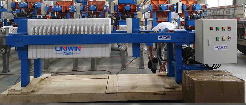 XMY 8-450 filter press model